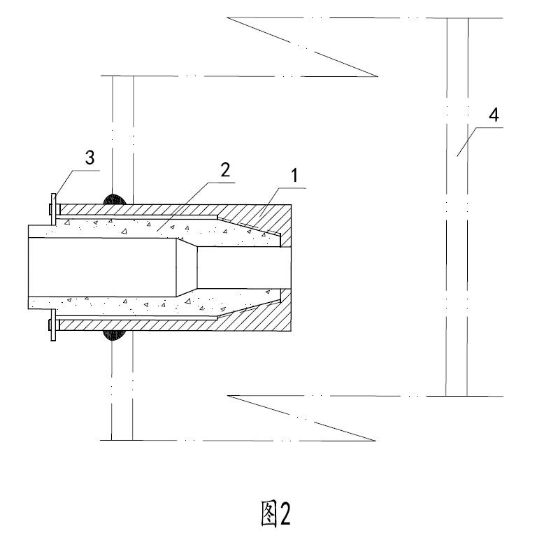 图2是本发明可拆卸喷嘴的结构示意图